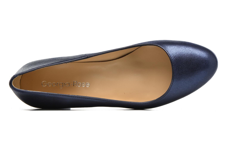 Zapatos de tacón Georgia Rose Slico Azul vista lateral izquierda
