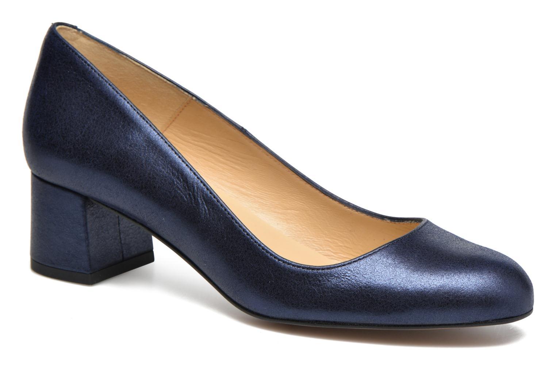 Marques Chaussure femme Georgia Rose femme Slico cuir velours métallisé  marine