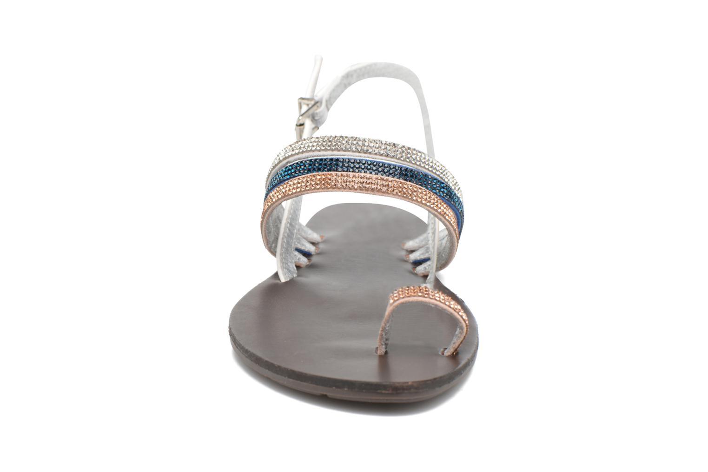 Sandales et nu-pieds Chattawak Nina Bleu vue portées chaussures