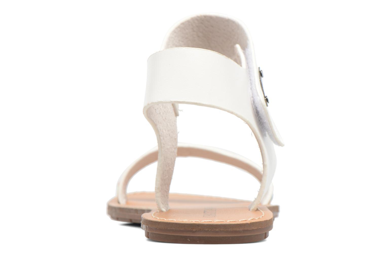 Sandales et nu-pieds Chattawak Louisiane Blanc vue droite