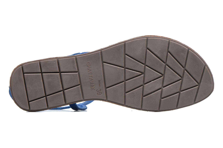 Sandalen Chattawak Nelly Blauw boven