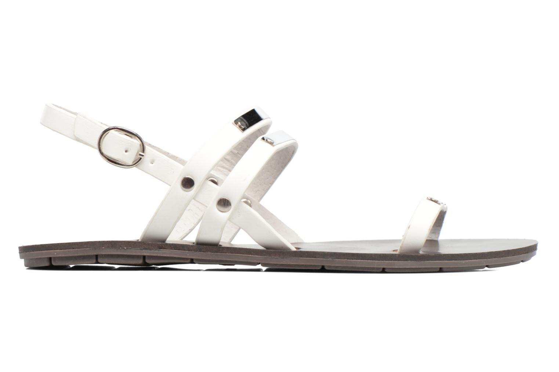 Sandali e scarpe aperte Chattawak Lydie Bianco immagine posteriore