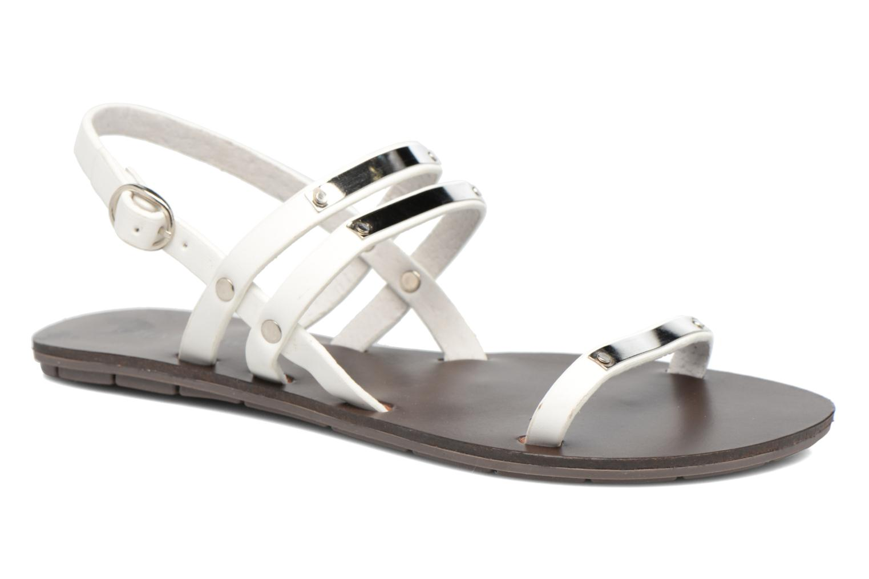 Sandales et nu-pieds Chattawak Lydie Blanc vue détail/paire
