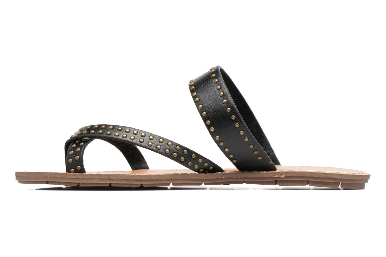 Sandales et nu-pieds Chattawak Pamela Noir vue face