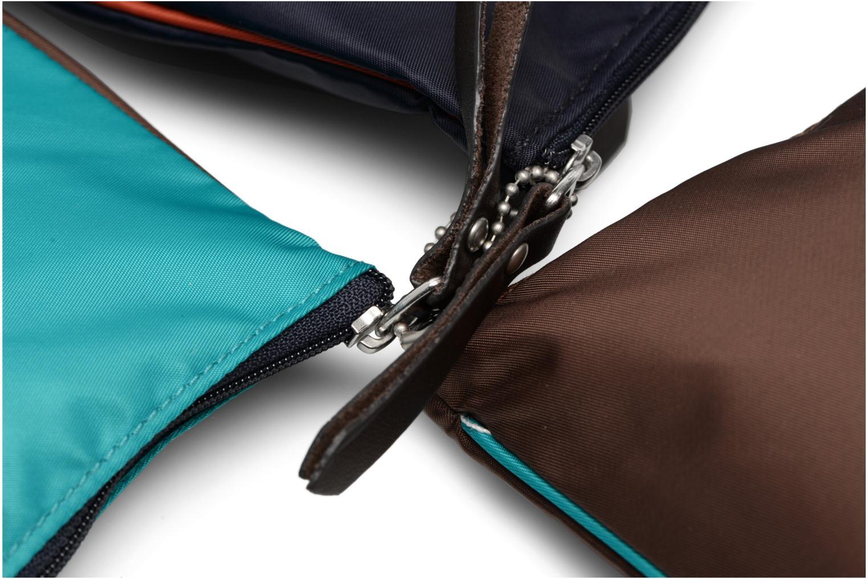 Sacs pochettes Bensimon Zipped pocket set Multicolore vue gauche