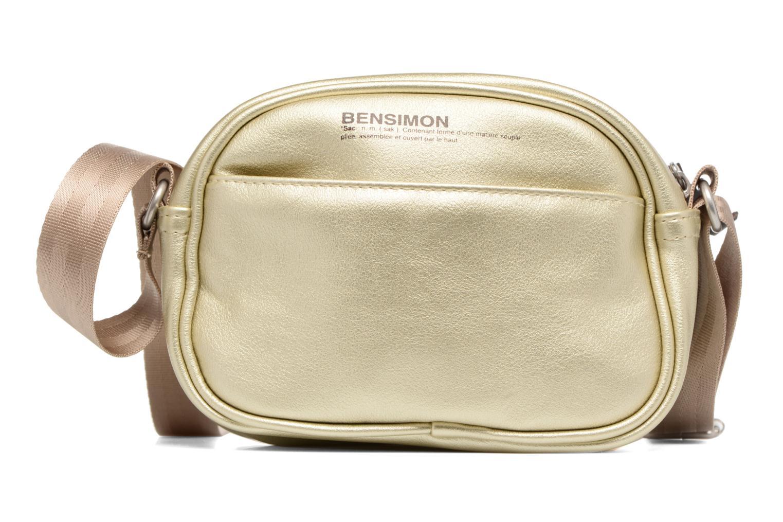 Sacs à main Bensimon Fancy Fake leather Roung bag Or et bronze vue détail/paire