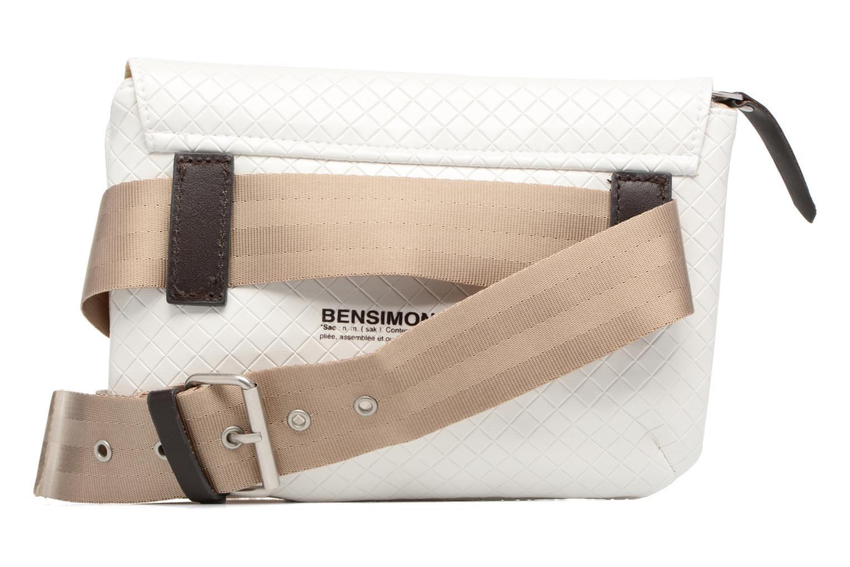 Fancy Canvas line Belt bag Ecru