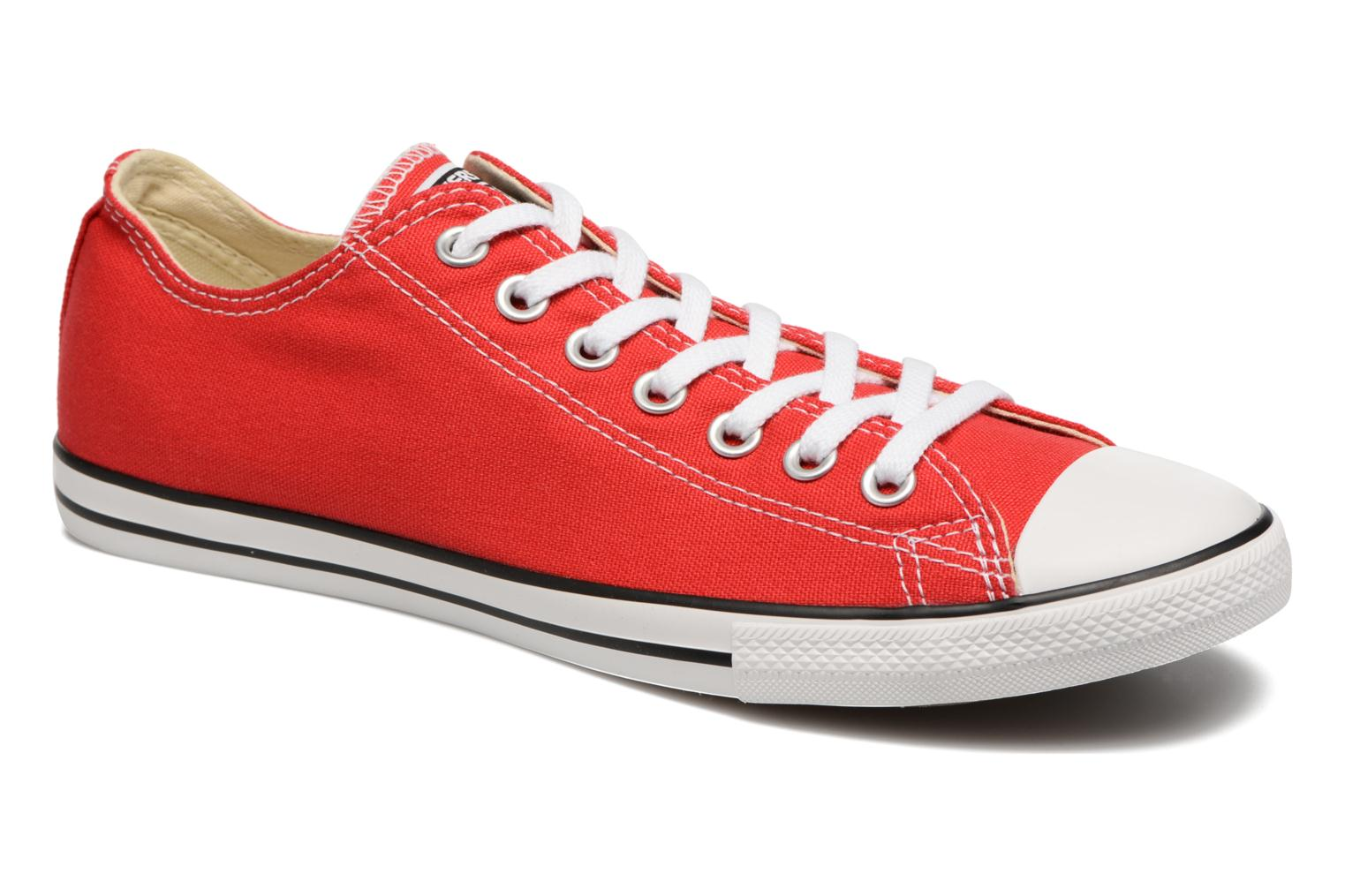 Uomo Converse Chuck Taylor All Star Ox M Sneakers Rosso