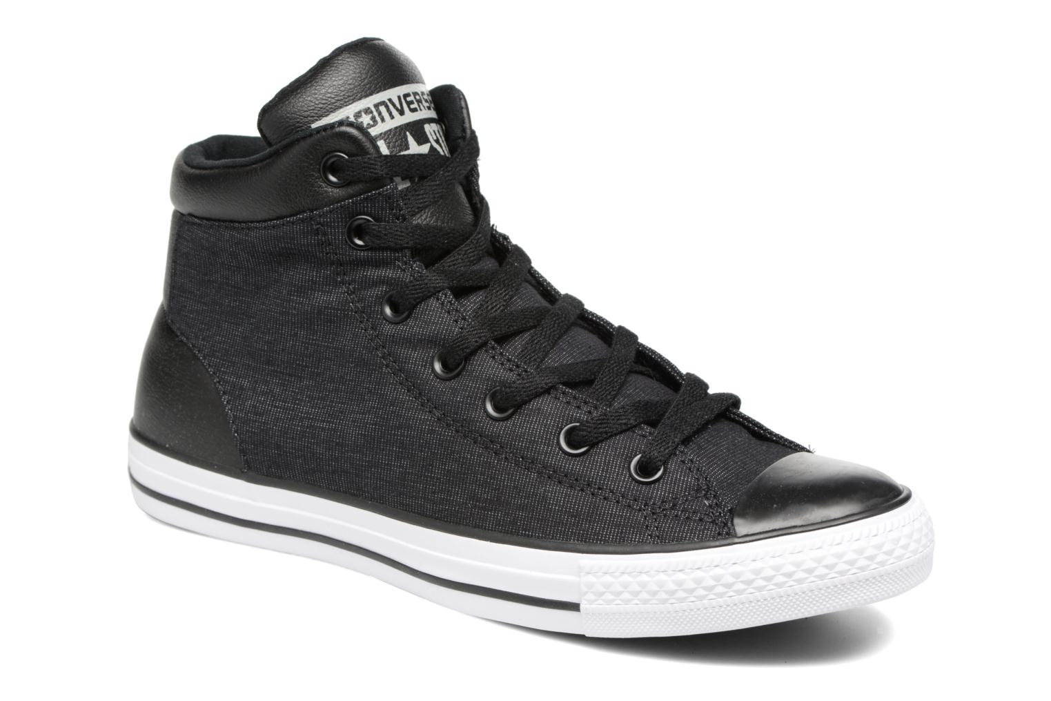 Trainers Converse Chuck Taylor All Star Furious Mid Black detailed view/  Pair view