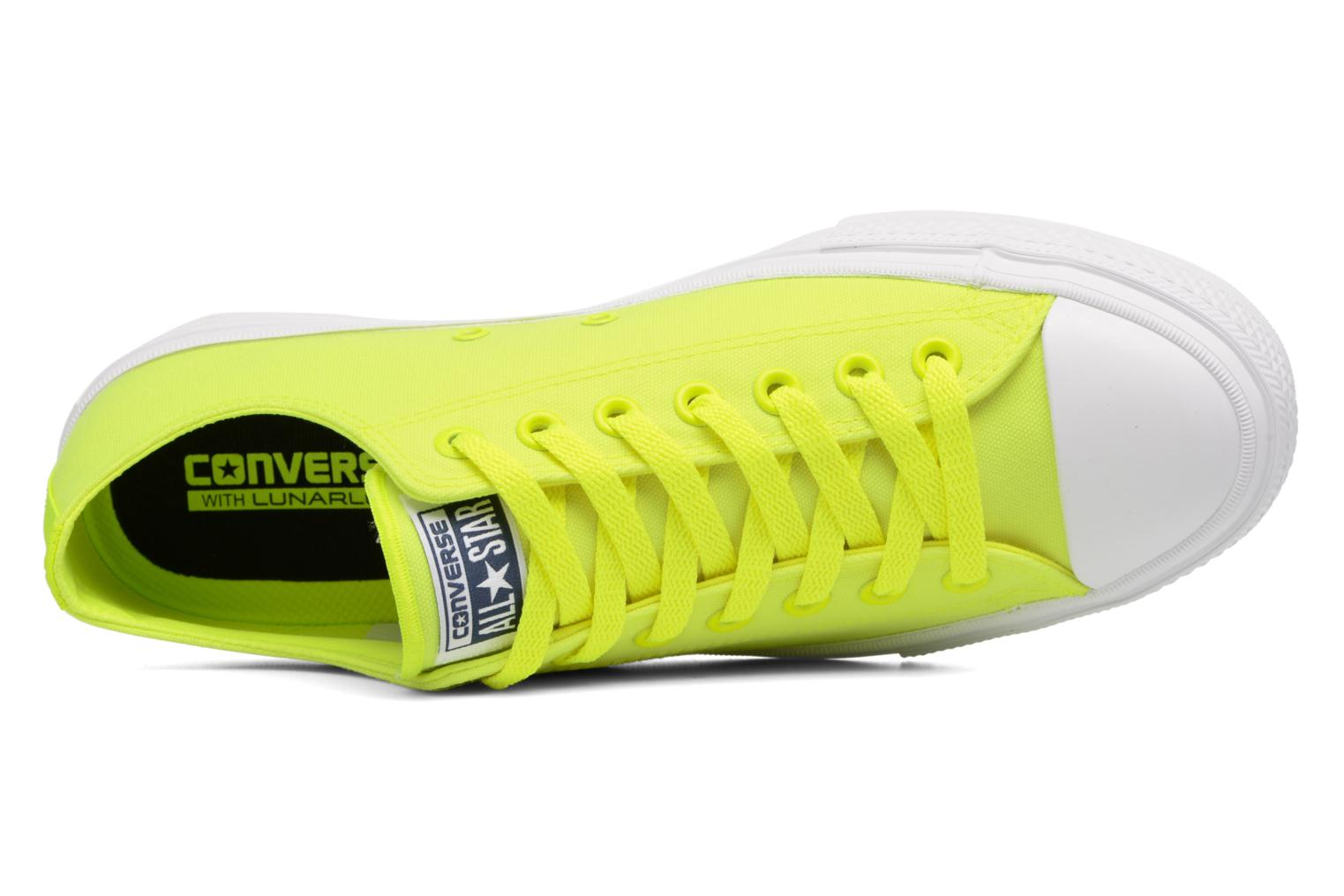 Chuck Taylor All Star II Ox Neon M Volt Green  White