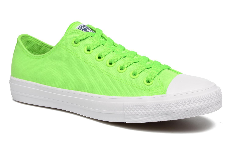 Donna Converse Chuck Taylor All Star Ii Ox Neon W Sneakers Verde Taglia 40