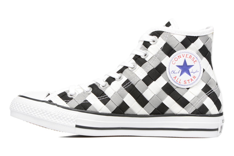 Sneaker Converse Chuck Taylor All Star Coton Hi Woven Canvas W grau ansicht von vorne