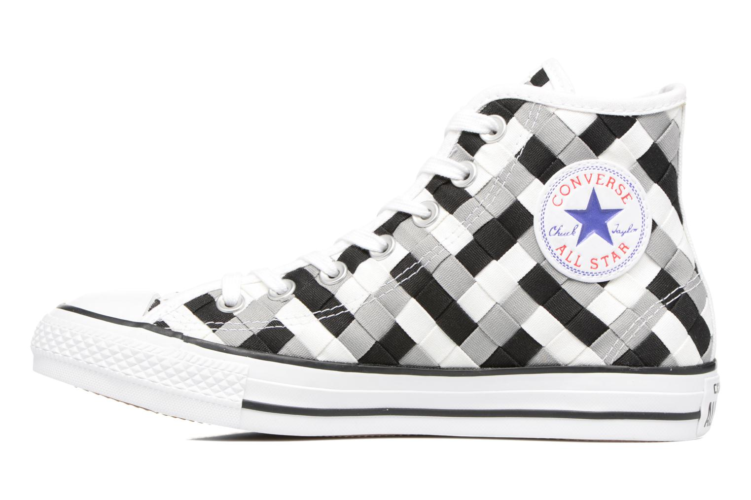 Trainers Converse Chuck Taylor All Star Coton Hi Woven Canvas W Grey front view