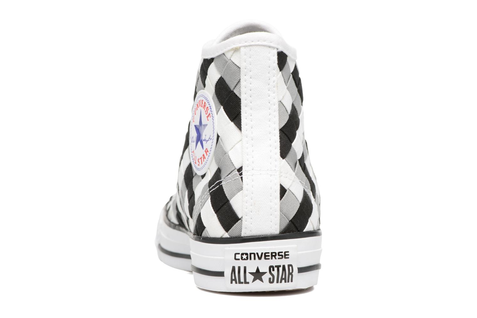 Trainers Converse Chuck Taylor All Star Coton Hi Woven Canvas W Grey view from the right