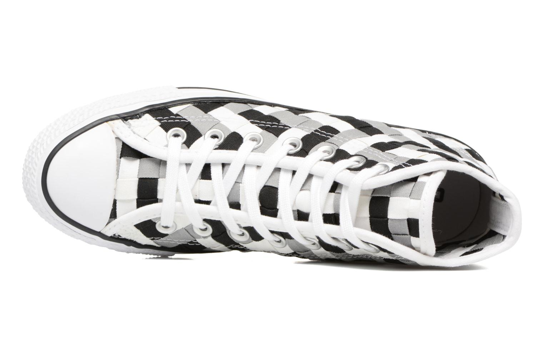 Sneaker Converse Chuck Taylor All Star Coton Hi Woven Canvas W grau ansicht von links