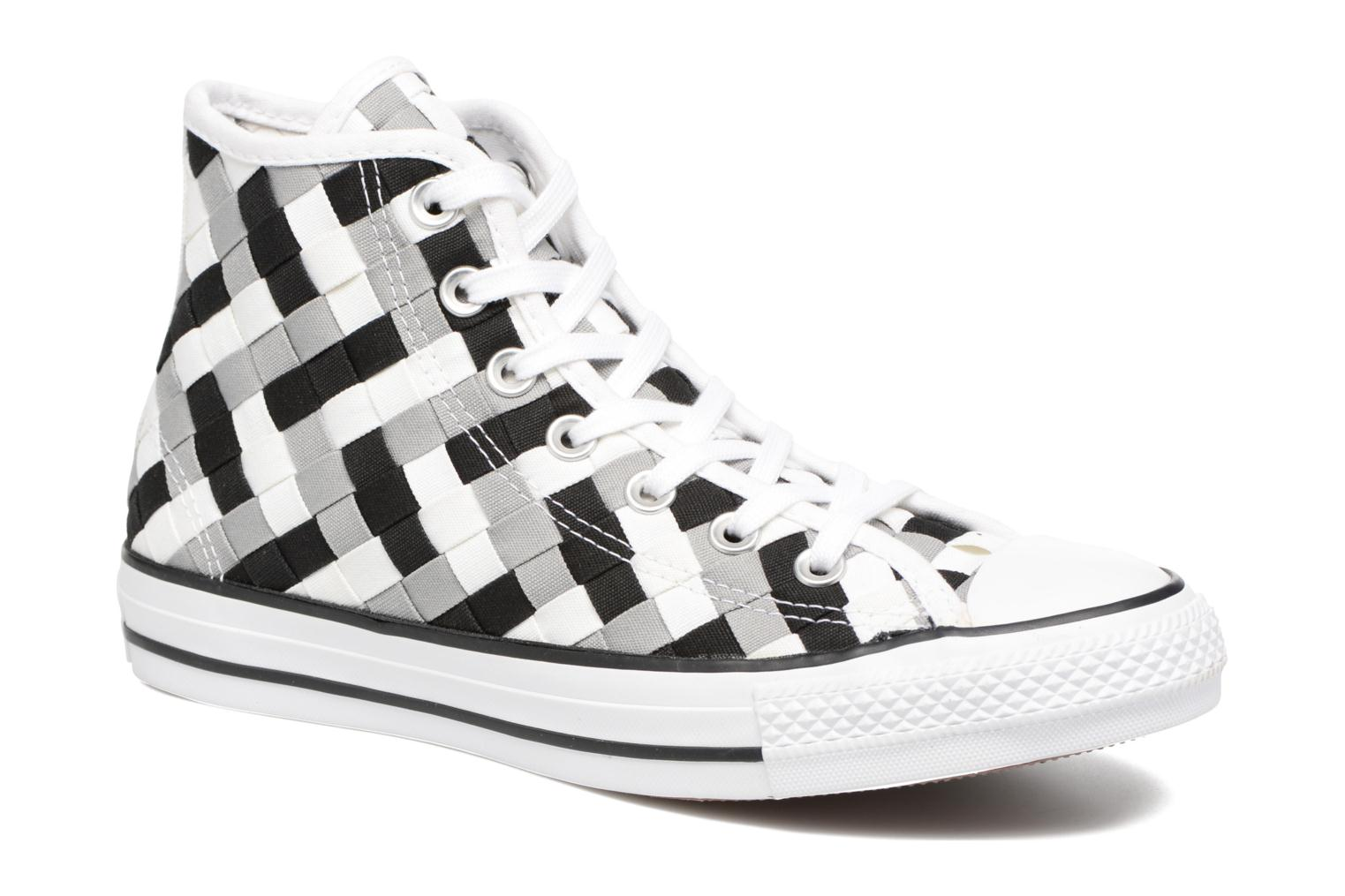 Trainers Converse Chuck Taylor All Star Coton Hi Woven Canvas W Grey detailed view/ Pair view