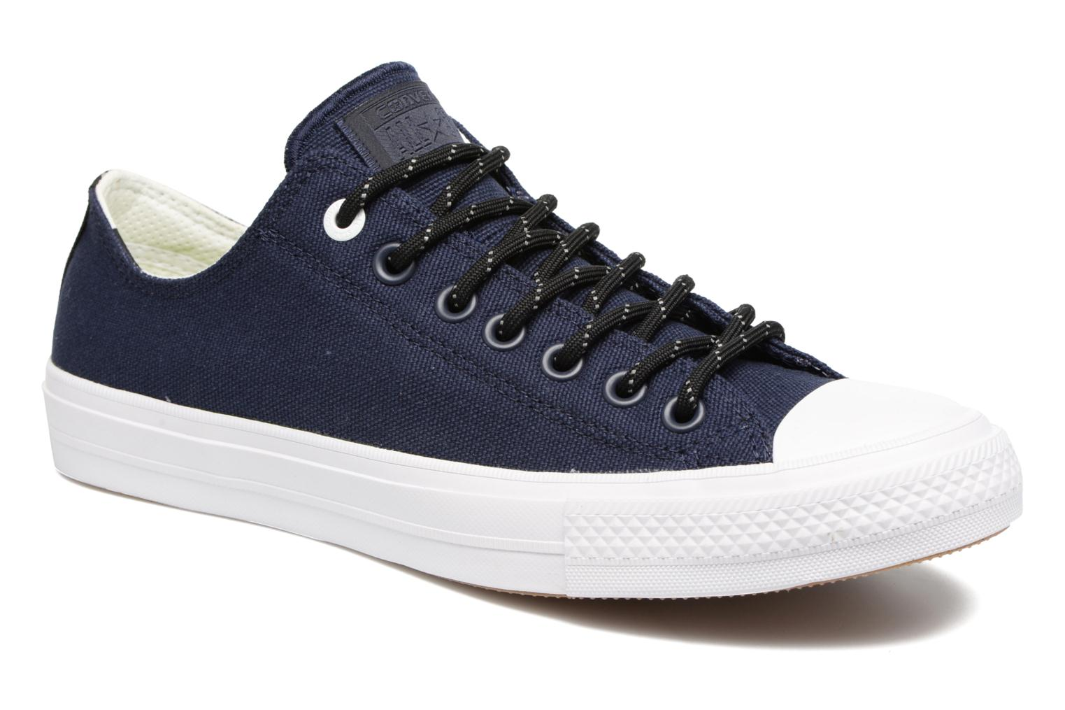 converse chuck taylor all star descent quilted leather ox w