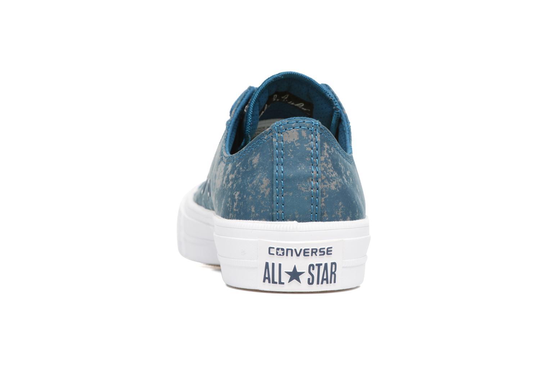 Baskets Converse Chuck Taylor All Star II Ox Reflective Wash W Bleu vue droite