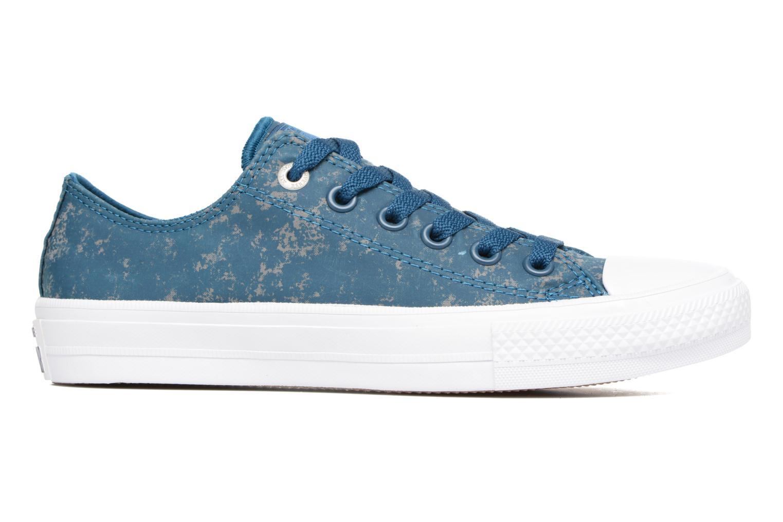 Chuck Taylor All Star II Ox Reflective Wash W Blue Lagoon/Pure Silver/White