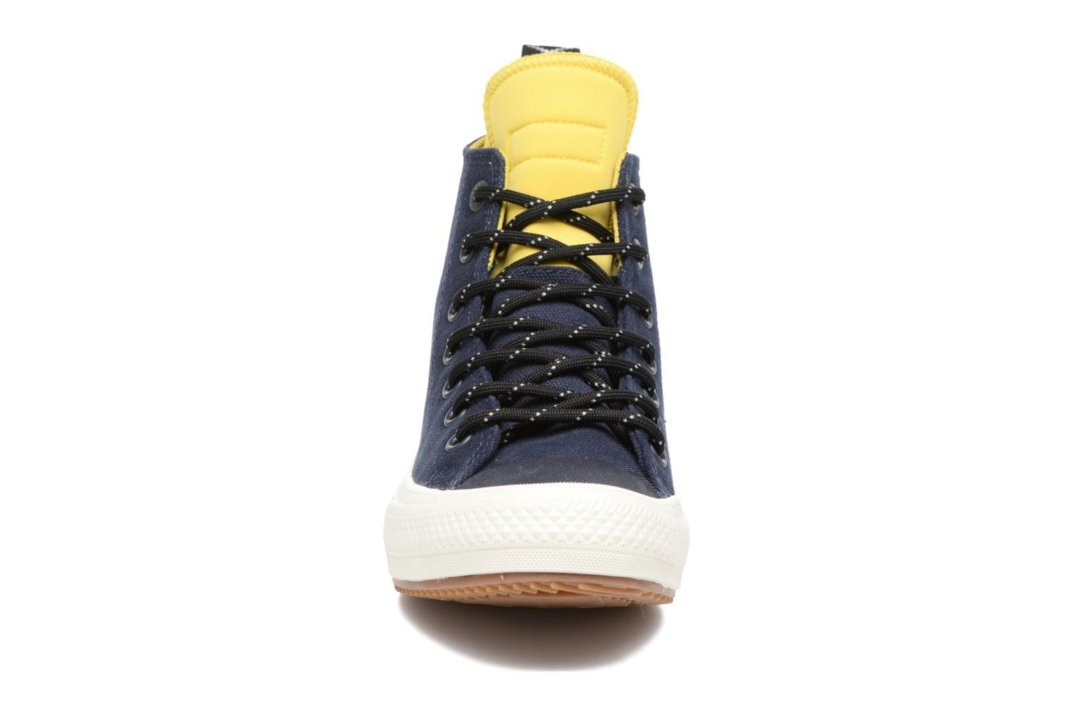 Baskets Converse Chuck Taylor All Star II Hi Shield Canvas Boot W Bleu vue portées chaussures