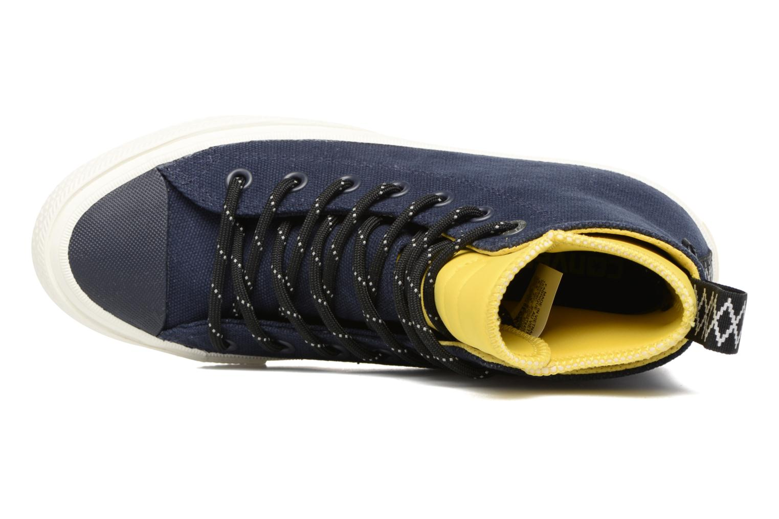 Trainers Converse Chuck Taylor All Star II Hi Shield Canvas Boot W Blue view from the left