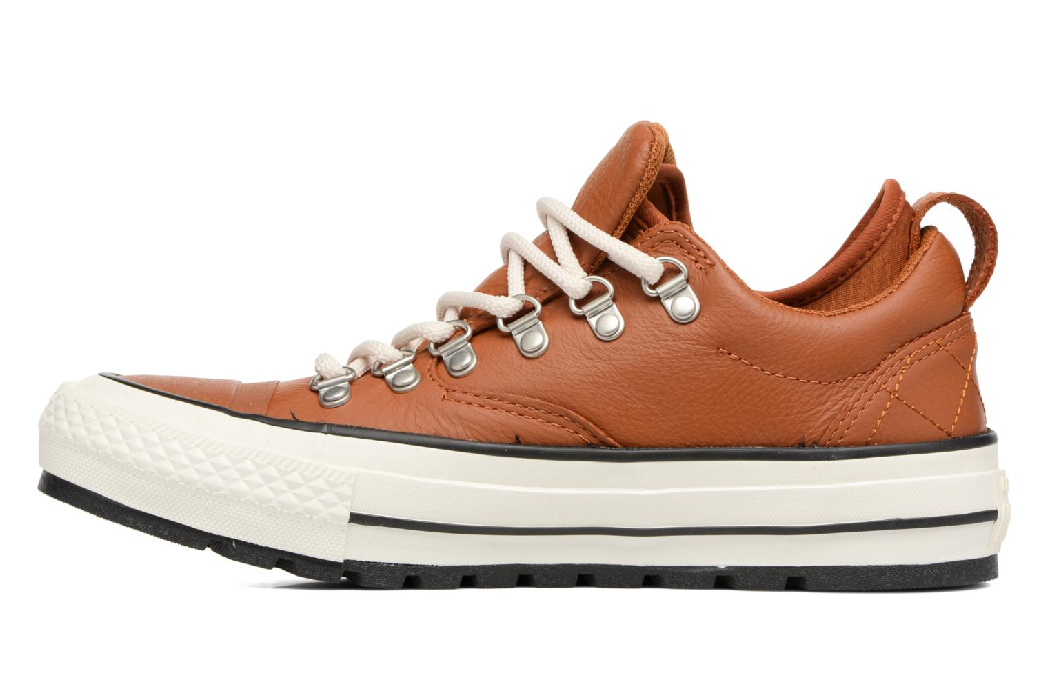 Baskets Converse Chuck Taylor All Star Descent Quilted Leather Ox W Marron vue face