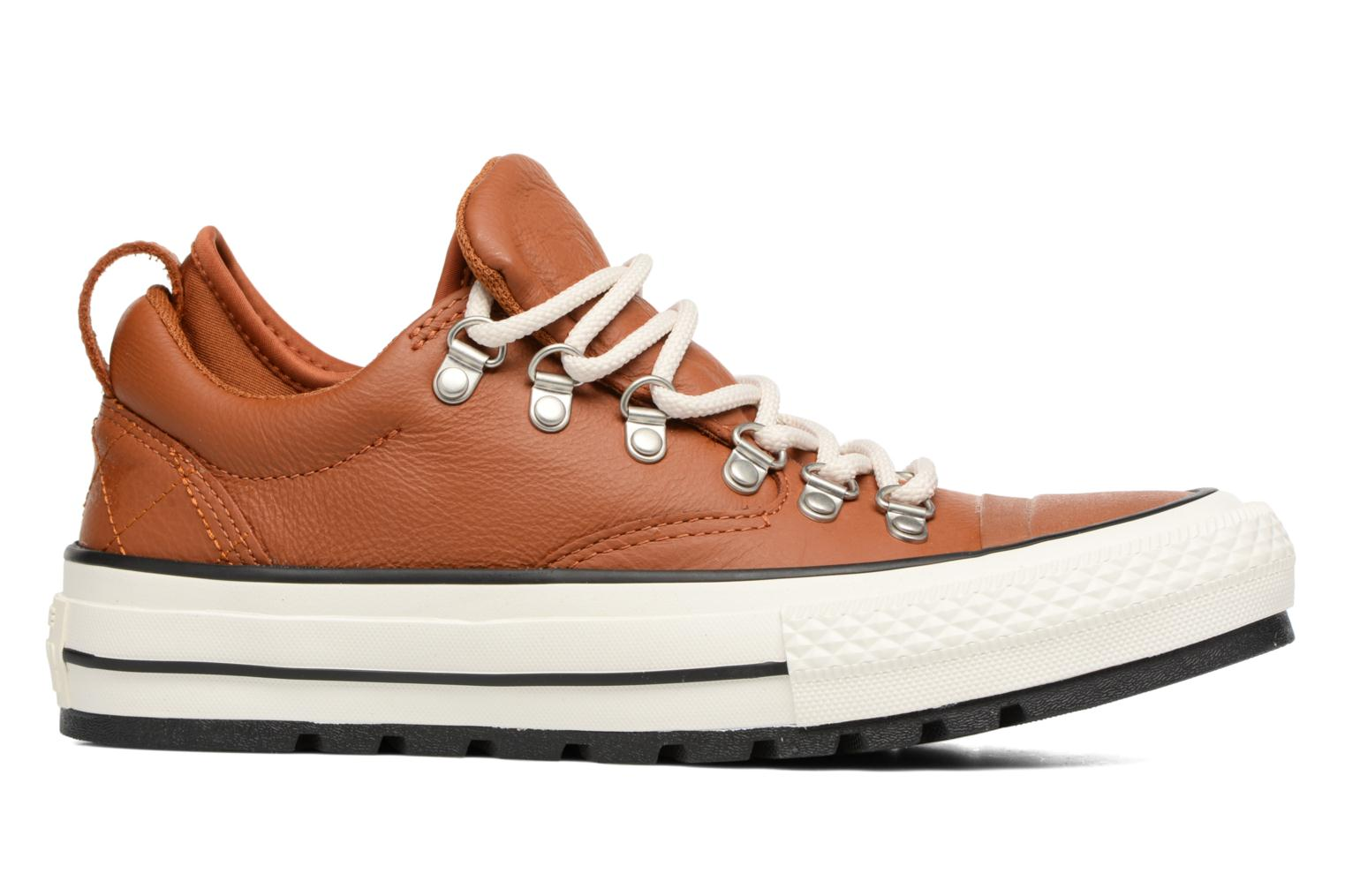 Baskets Converse Chuck Taylor All Star Descent Quilted Leather Ox W Marron vue derrière