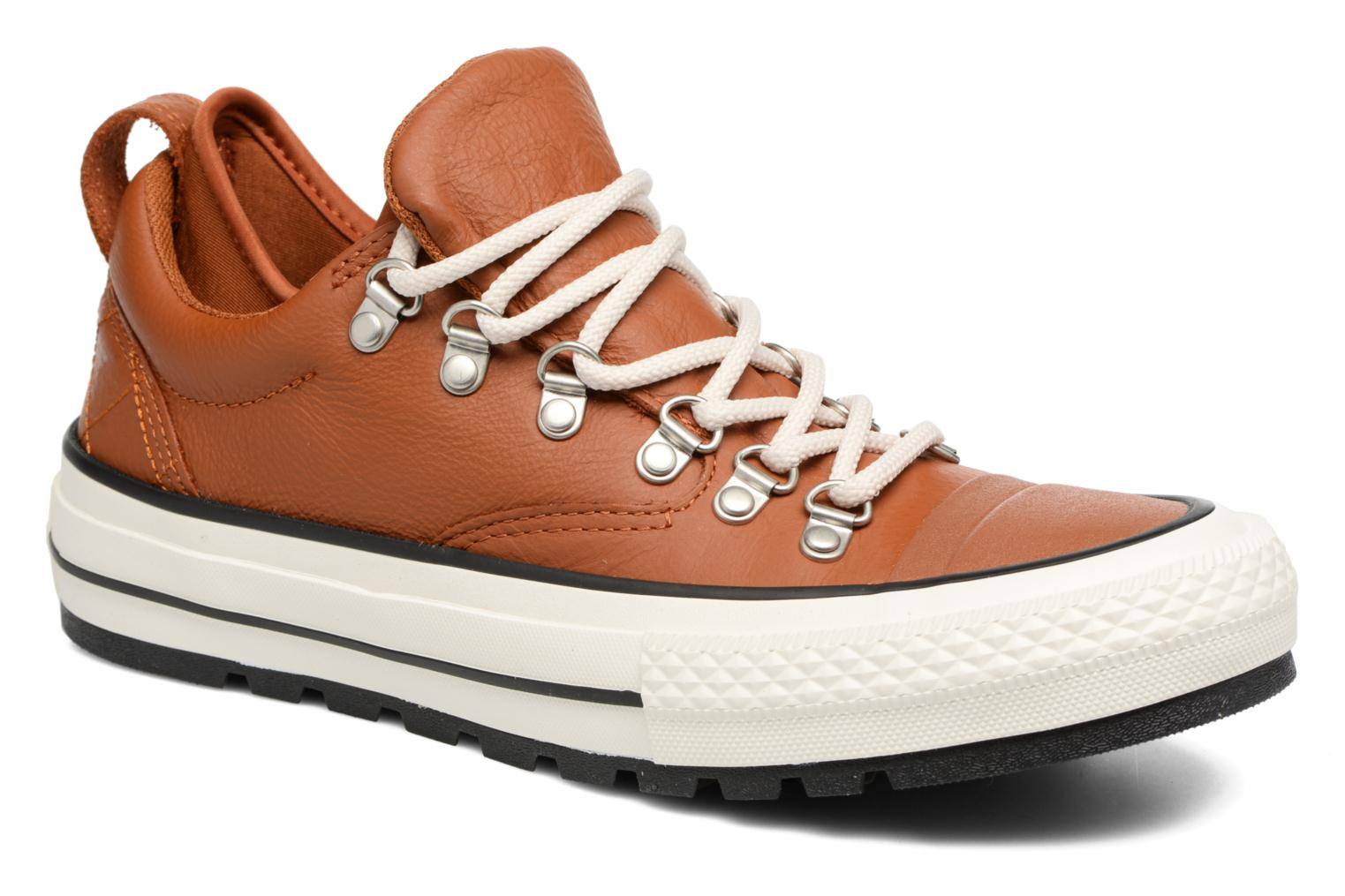 Baskets Converse Chuck Taylor All Star Descent Quilted Leather Ox W Marron vue détail/paire