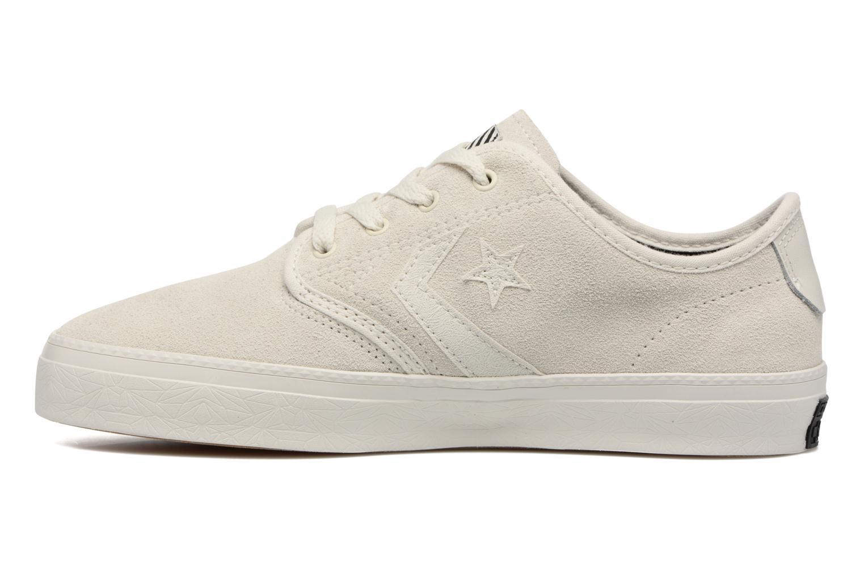 Sneaker Converse Cons Zakim Suede Ox M weiß ansicht von vorne