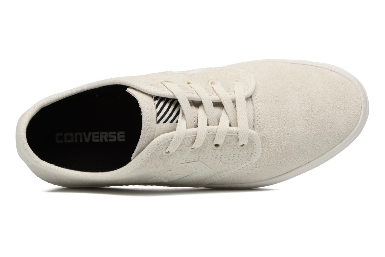 Sneaker Converse Cons Zakim Suede Ox M weiß ansicht von links