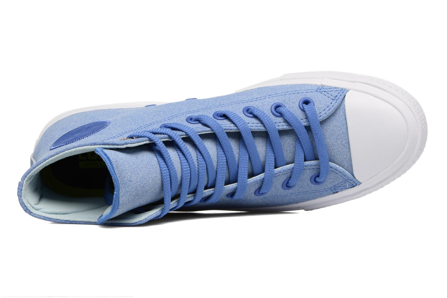 Chuck II Two-Tone Leather Hi M Oxygen Blue/Polar Blue/White