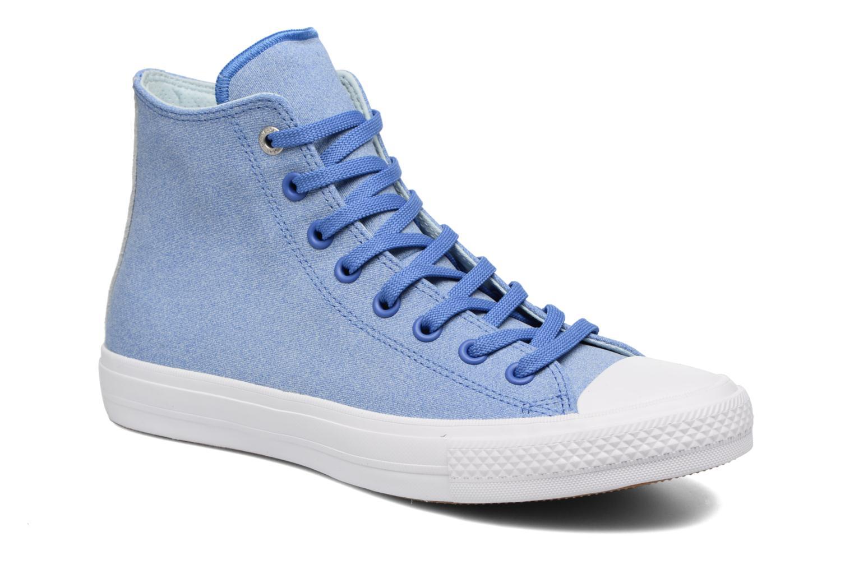 Chuck II Two-Tone Leather Hi M Oxygen Blue/Polar Blue/White