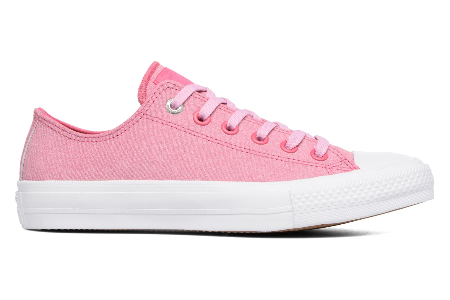 Trainers Converse Chuck II Two-Tone Leather Ox W Pink back view