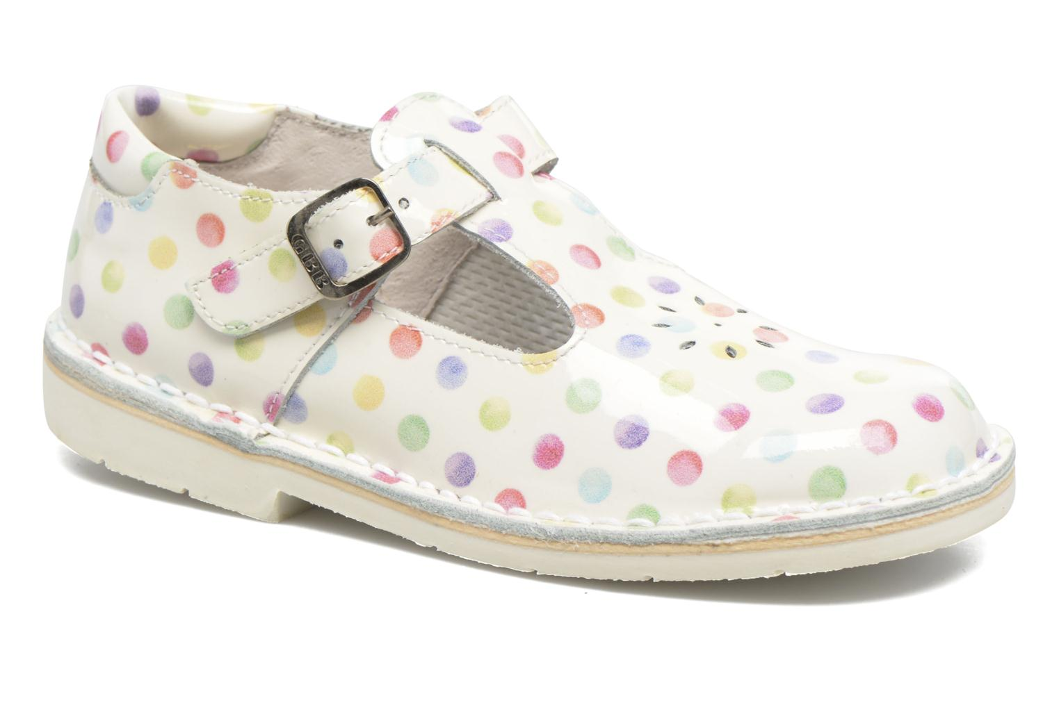 Ballet pumps GBB Knepa White detailed view/ Pair view