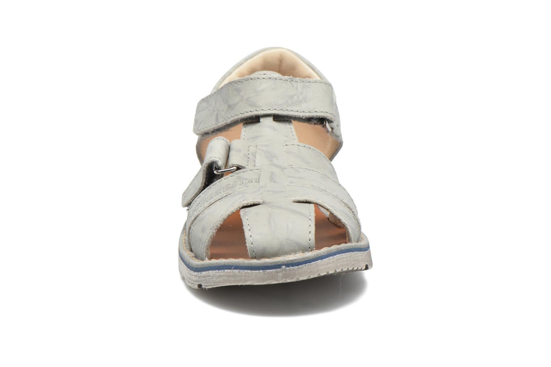 Sandales et nu-pieds GBB Manuel II Gris vue portées chaussures
