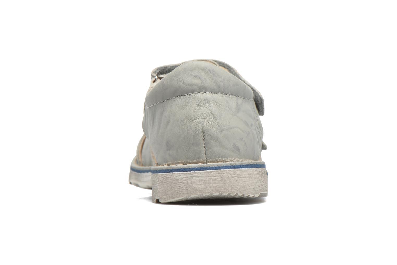 Sandales et nu-pieds GBB Manuel II Gris vue droite