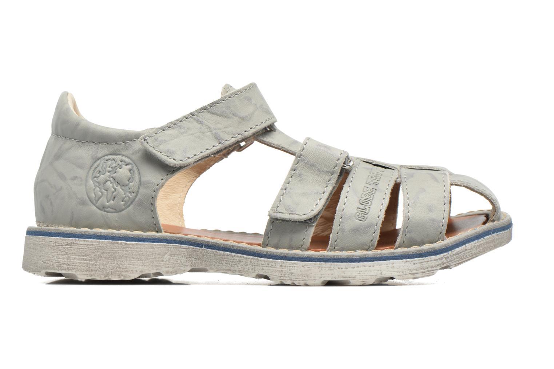 Sandales et nu-pieds GBB Manuel II Gris vue derrière
