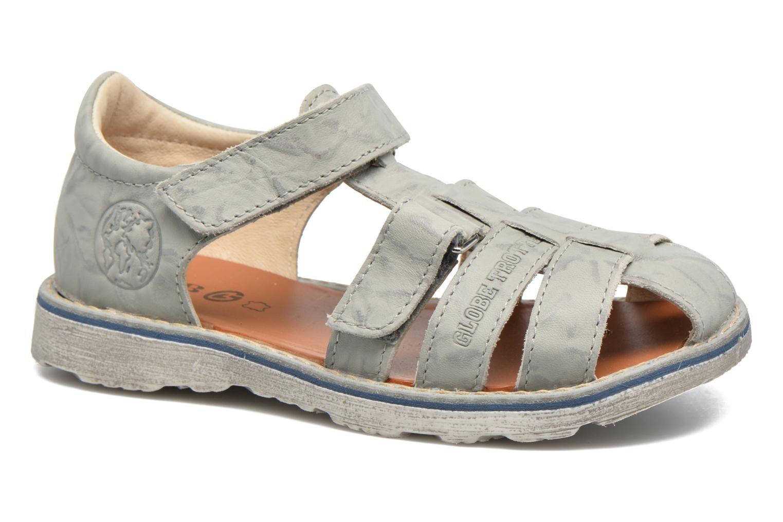 Sandales et nu-pieds GBB Manuel II Gris vue détail/paire