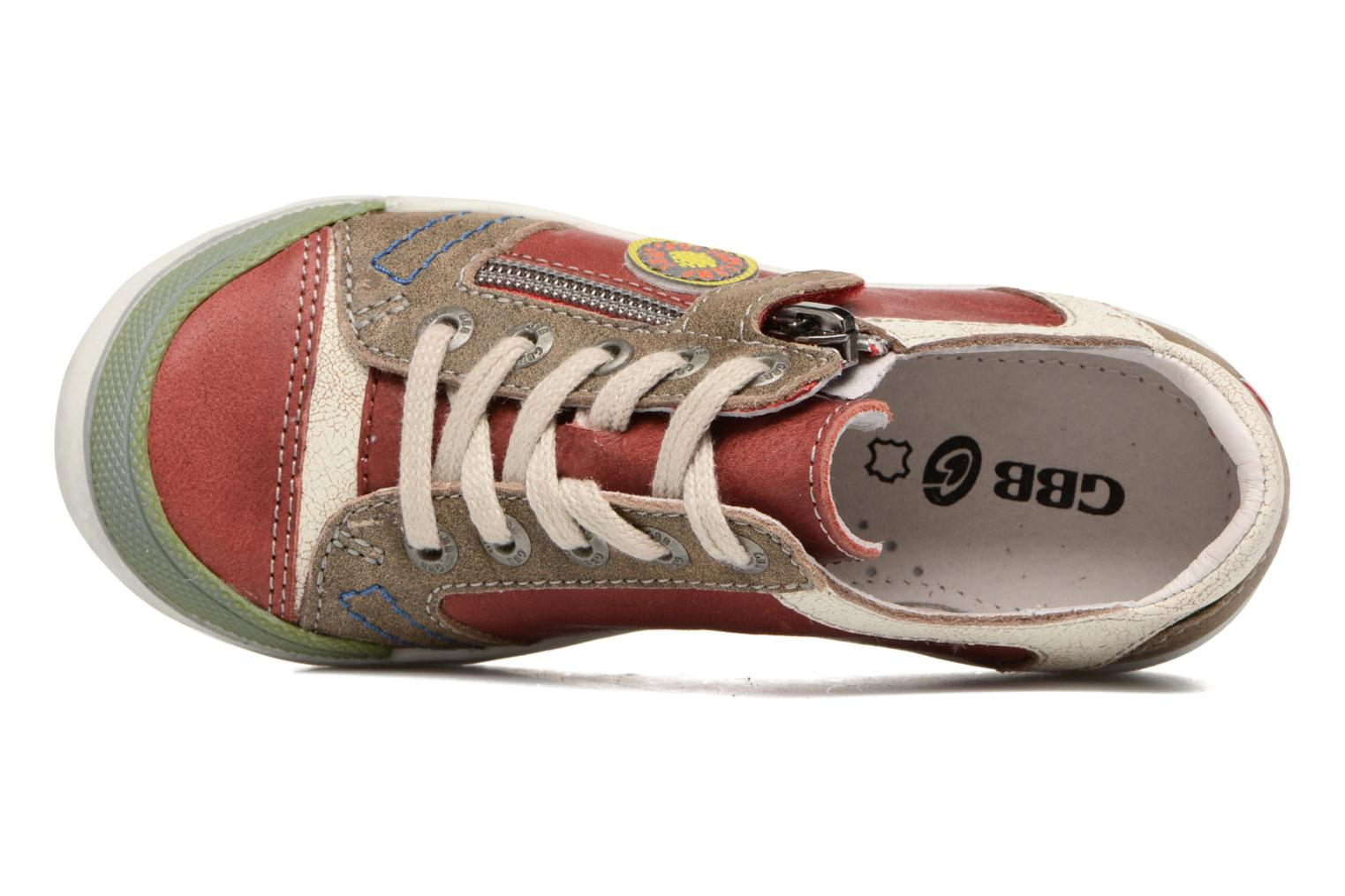 Sneakers GBB Matias Rosso immagine sinistra
