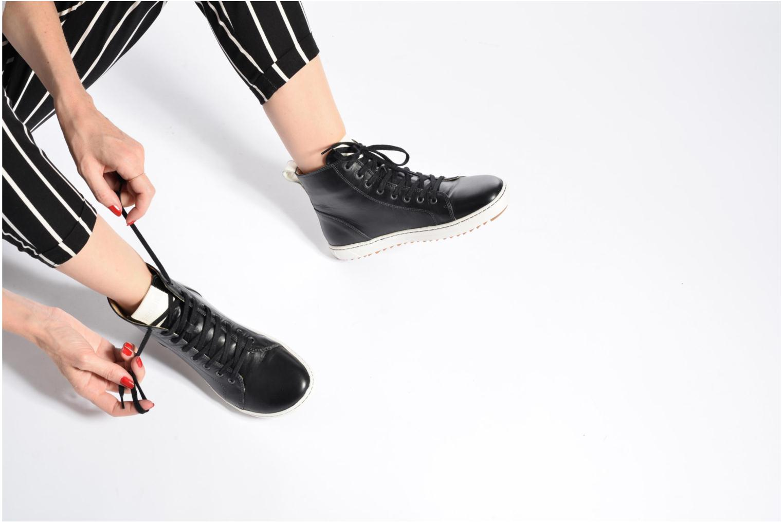 Chaussures à lacets Birkenstock Bartlett W Blanc vue bas / vue portée sac