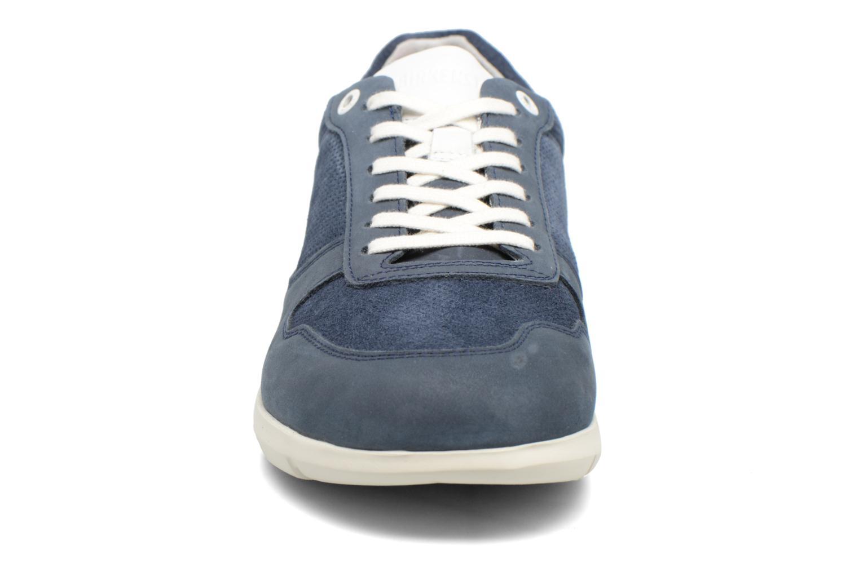 Baskets Birkenstock Cincinnati Bleu vue portées chaussures