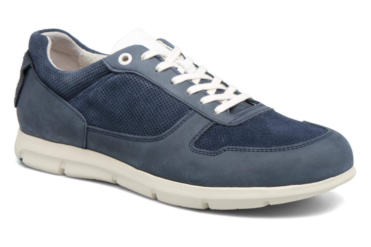 Cincinnati Cuir Naturel Navy
