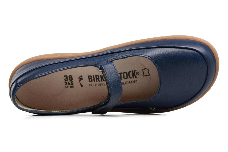 Ballerines Birkenstock Iona Bleu vue gauche