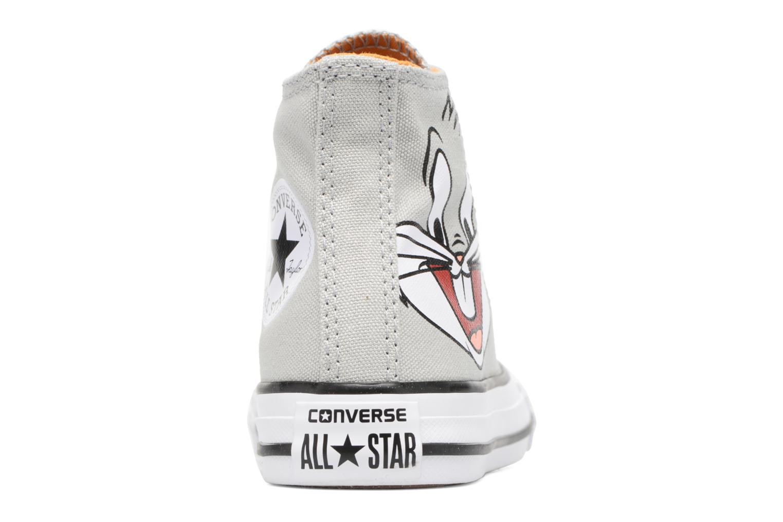Sneaker Converse Chuck Taylor All Star Hi Bugs grau ansicht von rechts