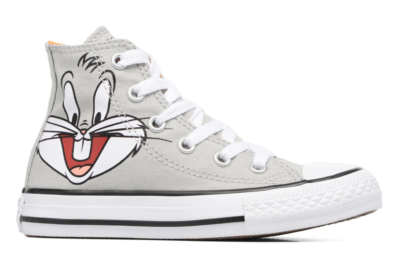 Sneaker Converse Chuck Taylor All Star Hi Bugs grau ansicht von hinten