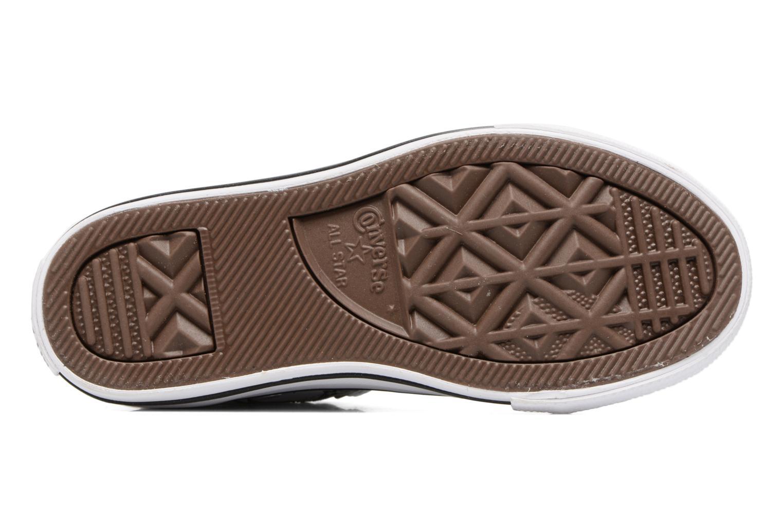 Sneaker Converse Chuck Taylor All Star Hi Bugs grau ansicht von oben