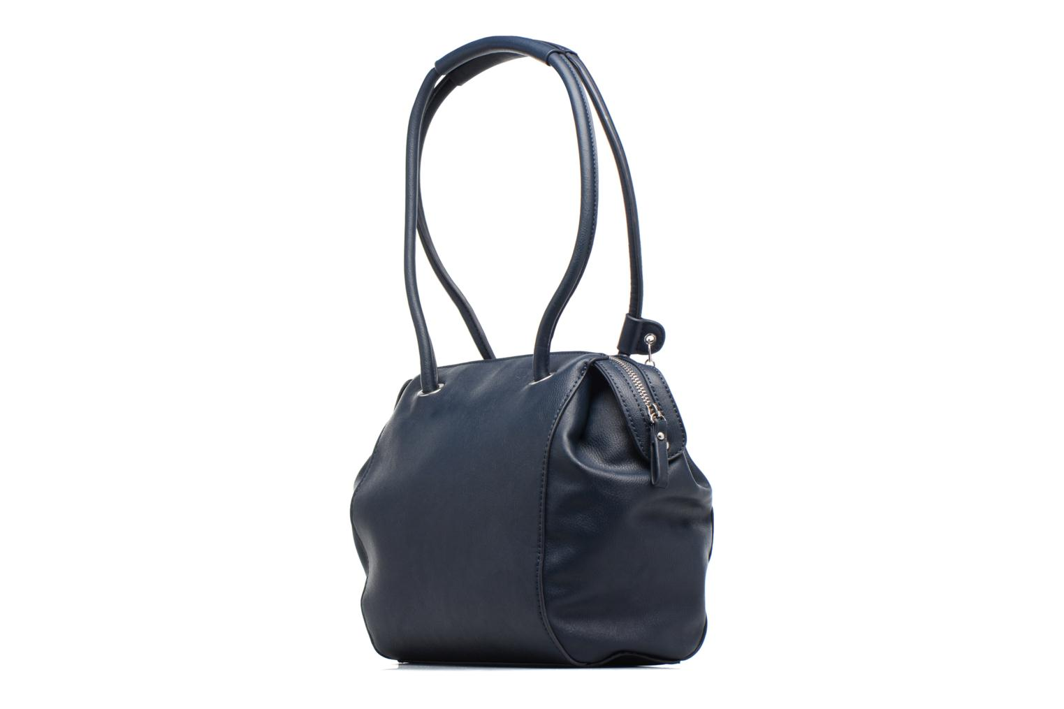 Handbags Tamaris Denise Bowling Bag Blue view from the right