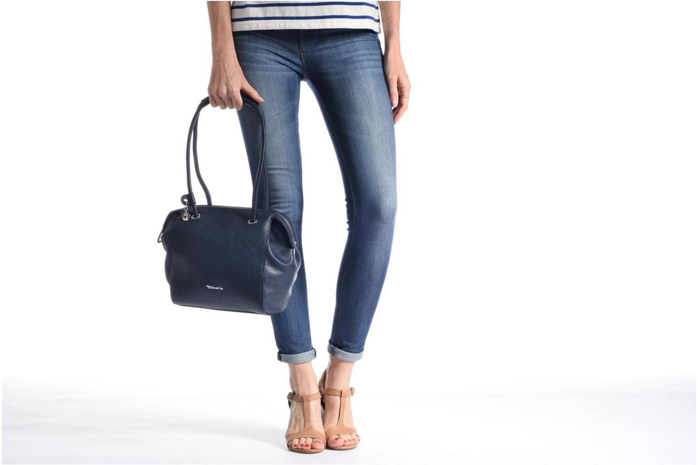 Handbags Tamaris Denise Bowling Bag Blue view from above