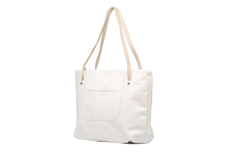 Sacs à main Tamaris Pauline Shopping Bag Blanc vue portées chaussures
