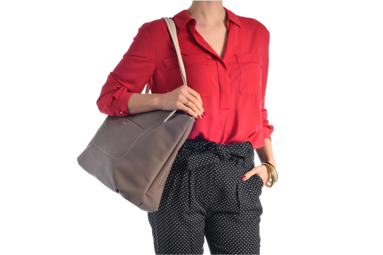 Sacs à main Tamaris Pauline Shopping Bag Blanc vue haut